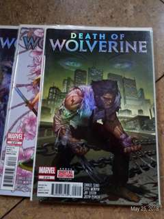 Death of wolvwrine #1-4