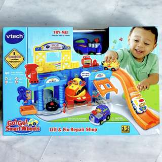 (In-Stock) VTech Go! Go! Smart Wheels Auto Repair Center Playset (Brand New)
