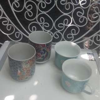 School opening promo Small tea cups