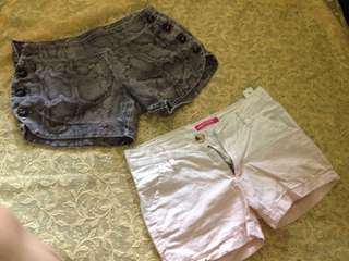 2 shorts for girls