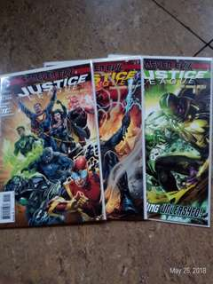 Forever evil justice league #1-3