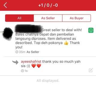 Testimonial from my dearest customer ❤️