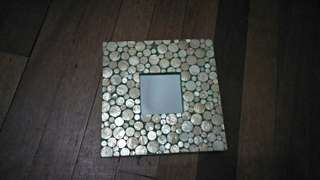 Decorative Capiz Mirrors (2 Pieces)