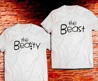 The Beauty Beast Unisex Design Tee T-Shirt Shirt