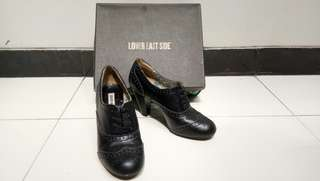 Lower East Side Boots • Black (Size 40/8)