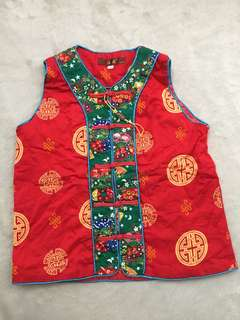 Chinese Top or Costume for boys (Size 140)