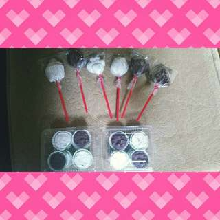 Chocolate Lollipops- for birthday party giveaways