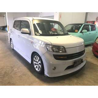 P-PLATE RENTAL NO DEPOSIT DAIHATSU MASTERIA WITH BODYKIT
