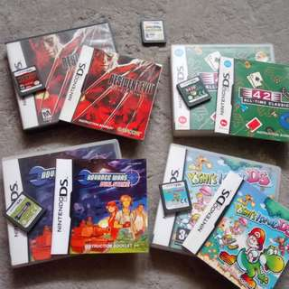 [REPRICED] Nintendo Ds Games