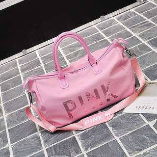 Travel bag pink
