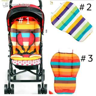 alas stroller atau carseat stripes