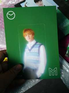 MINHYUK MONSTA X  BIG PHOTOCARD
