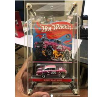 Showcase Acrylic Case & Card Protector for Hotwheels Carded