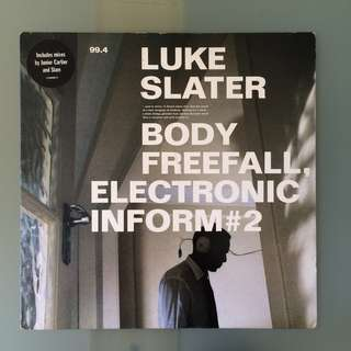 Luke Slater - Body Freefall, Electronic Inform #2 (Vinyl)