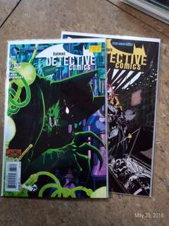 Batman: Detective comics issue 35-36
