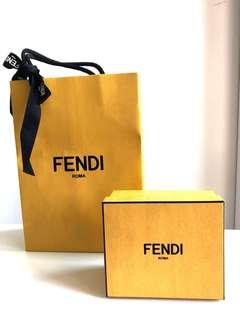 Fendi 紙袋連紙盒