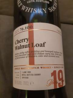 SMWS 76.100 Mortlach 19 years scotch single malt whisky