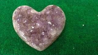 🚚 超美愛心瑪瑙紫水晶♥️