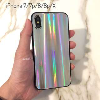 Holographic iPhone 7/7p/8/8p/X case