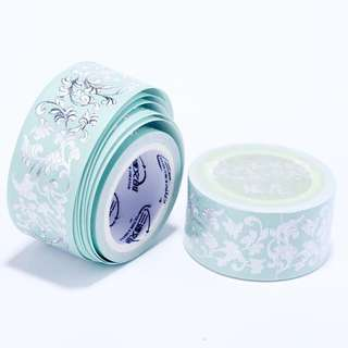(PO) Intricate Emerald Washi Tape