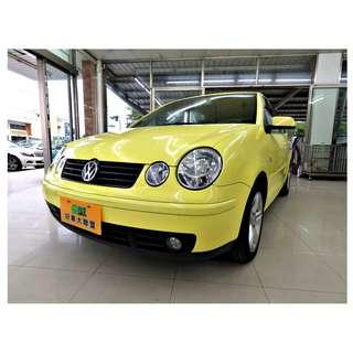 『上嘉汽車』2003年 福斯-POLO 1.4黃-ABS防鎖死煞車系統