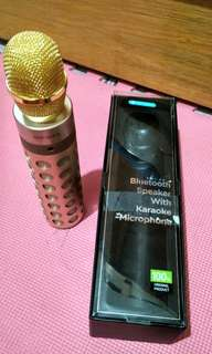 Rock Space Bluetooth Speaker with Karaoke Microphone