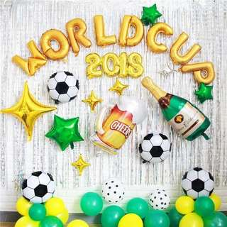 Football Soccer Theme Decor for Birthday/Parties/Celebration Events