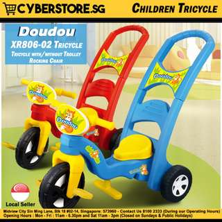 Doudou-XR0806-02 (Rocking Tricycle)