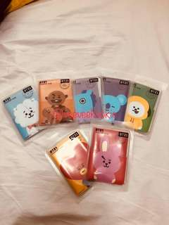 BT21 Line Passport Case