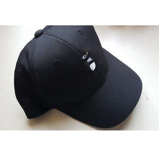Casual Snapback Cap with Penguin Detail