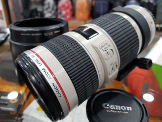 Used item Canon EF 70-200mm f4 L IS ll USM