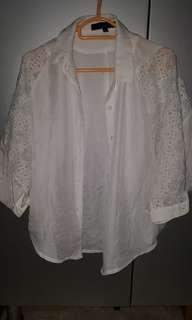 全新闊身白色襯衫,只限順豐