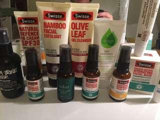 Skincare bulk (bargain!)