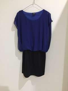 Dress Electric Blue