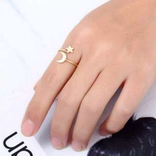Lune Estelle Open Ring