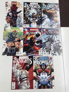 Marvel Knights (2000 1st Series) Complete Comics Set