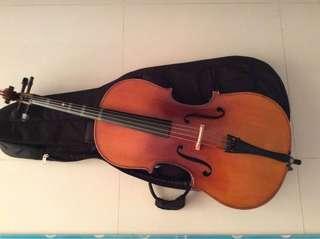 Cello size 1/4