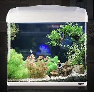 Super Aquarium Fish Tank - (42.5 * 31 * 50.8cm) - complete accessories