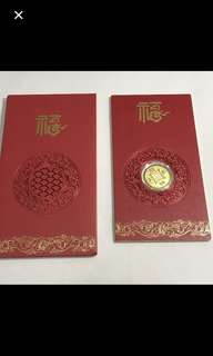 24/999 Yellow Gold {Collectibles Item - 999 Pure Gold} 金是永恆 24K/999 0.1Gram Pure Gold 足金 - 招財进宝
