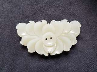 Nephrite carving of Lotus