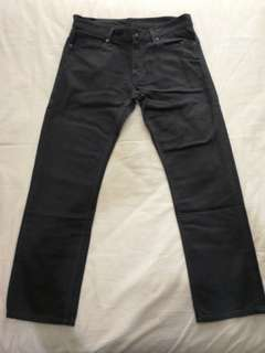Uniqlo Dark Grey Jeans