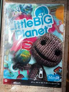 全新Little Big Planet Playstation 3 A4 file