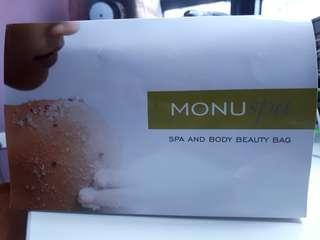 Spa beauty bag