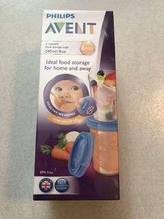 Avent food storage