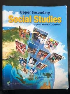 O level Social Studies upper sec textbook