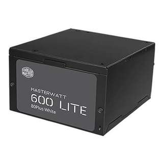 Cooler Master MasterWatt Lite 600W 80+ White Power Supply - SKU: MPX-6001-ACABW-AU