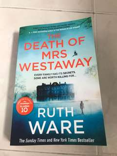 Ruth ware - the death of mrs westaway