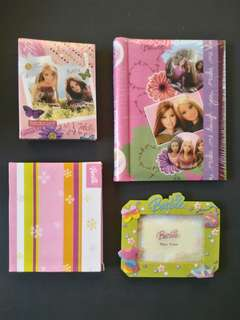TAKE ALL Barbie photo album SET