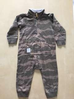 Baby army sleepsuit