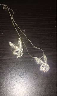 Playboy ring/necklace